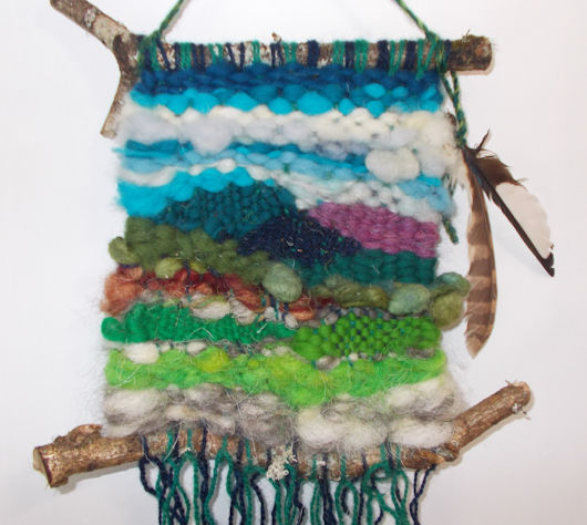 Weave a  Rustic Wall-Hanging